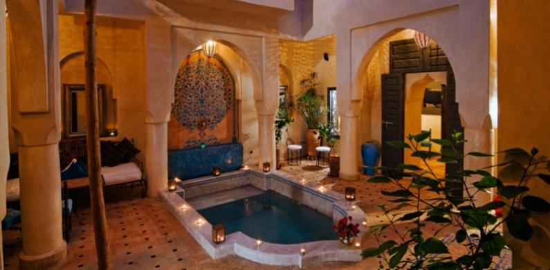 Kamer Romantisch Maken Bestellen : Riad Marrakech Morocco